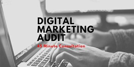 Digital Marketing Audit - 45 Minutes tickets