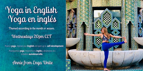 Yoga in English | Yoga en inglés | New Theme Every Class | Annie from Enga boletos