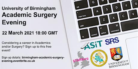University of Birmingham's Academic Surgery Evening tickets
