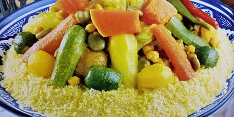 Virtual Cooking Class - Couscous With Meat and Seven Vegetables tickets
