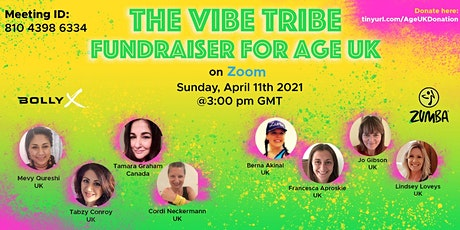 The Vibe Tribe Fundraiser for Age UK tickets