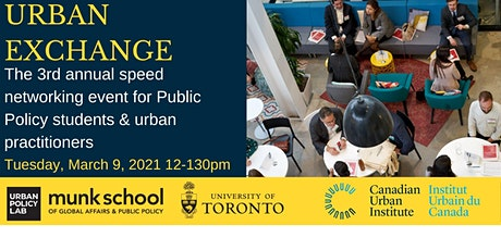 Urban Exchange : Speed Networking Event 2021 tickets