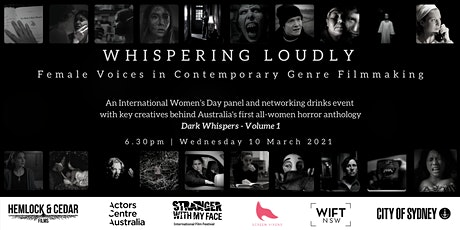WHISPERING LOUDLY - Female Voices in Contemporary Genre Filmmaking tickets