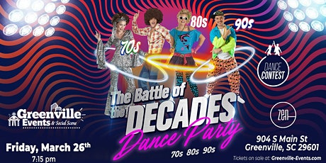 T he Battle of the Decades Dance Party tickets