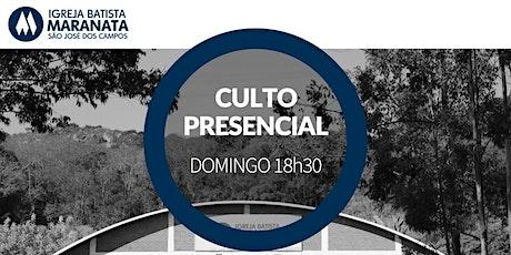 Culto - Presencial - NOITE | 28.02.2021 ingressos