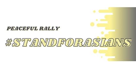 Stand for Asians Rally tickets