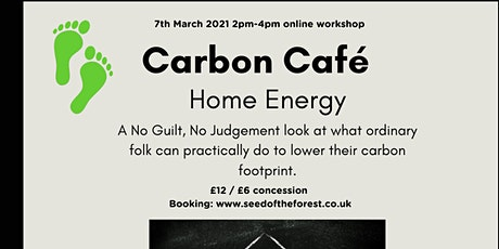 Home Energy Carbon Café tickets