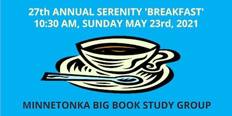 27th Annual Serenity Breakfast tickets