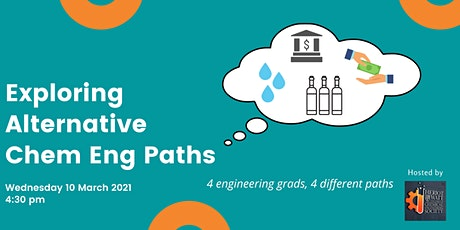 Exploring Alternative Chemical Engineering Paths tickets