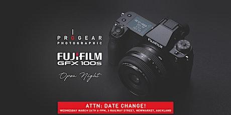 Fujifilm GFX100S Open Night tickets