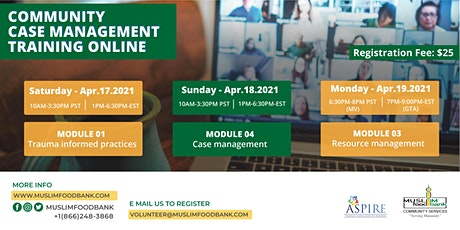 ASPIRE Community Case Management Training - ONLINE tickets