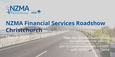 NZMA Financial Services Roadshow | Christchurch tickets