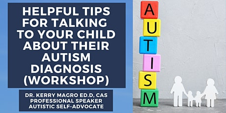 Helpful Tips For Talking To Your Child About Their Autism Diagnosis tickets