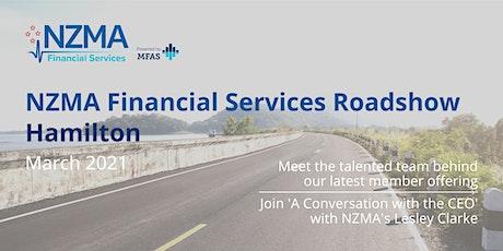 NZMA Financial Services Roadshow | Hamilton tickets