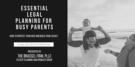 Essential Legal Planning for Busy Parents tickets