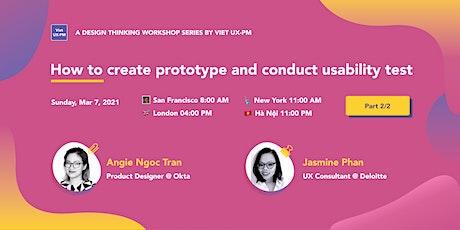 Viet UX-PM's Design Thinking Workshop- Part 2 tickets