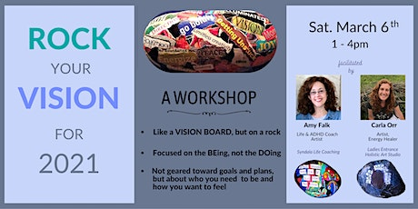 Rock Your Vision:  A Virtual Small Group Workshop tickets