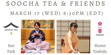[Tea Talk: Soocha Tea & Friends] Momo Yoshida from Momo Tea tickets