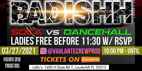 Vigilante Crew Prod. Presents: BADISHH! tickets