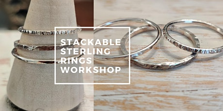 Stackable Sterling Rings Workshop tickets