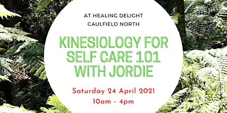 Kinesiology For Self Care 101 tickets
