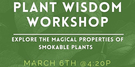 Plant Wisdom Workshop tickets