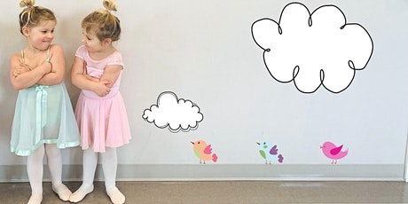 pink petal ballet 2/3yrs (+ grown-up) / tues mar 30-jun 22 / 9:30-10am tickets