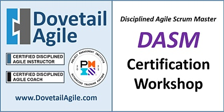 DASM - Disciplined Agile Scrum Master billets