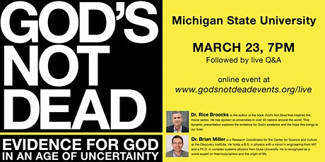 God's Not Dead at Michigan State University tickets