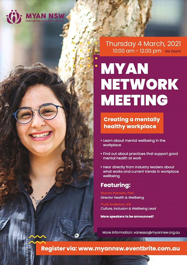 Multicultural Youth Affairs Network Meeting - March 2021 image