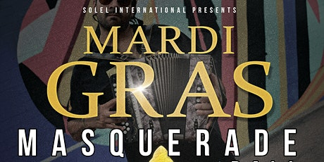 Masquerade Ball  featuring Ruben Moreno and the Zydeco Re-Evolution tickets