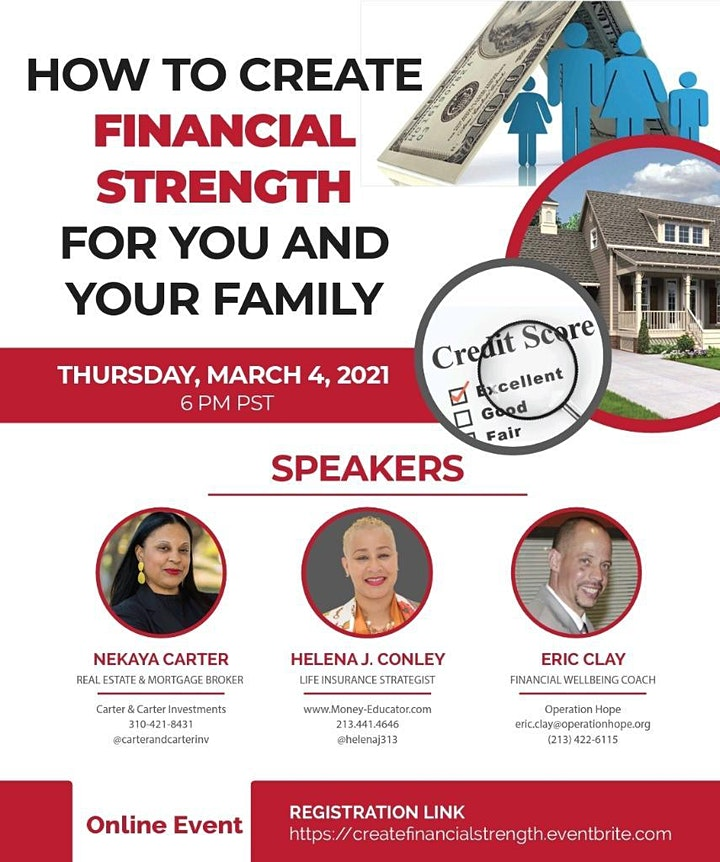 How To Create Financial Strength for You and Your Family image