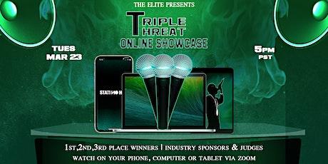 Triple Threat Showcase tickets