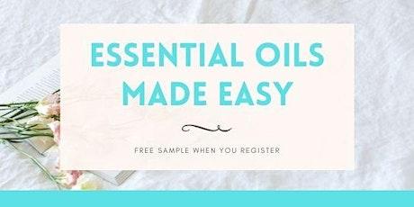 Essential Oils Made Easy tickets