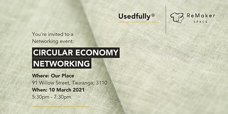 Circular Economy Networking Event tickets