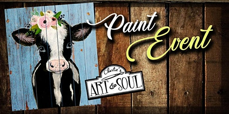 Paint Event Benefit for Ken Rook - Calf on Wood tickets