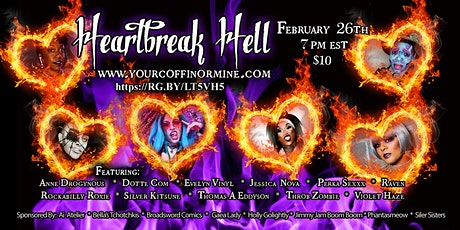 Heartbreak Hell: A Burlesque and Drag Show tickets