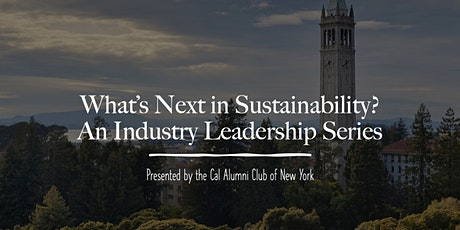 What's Next in Sustainability? Renewable Energy Tech and Markets tickets