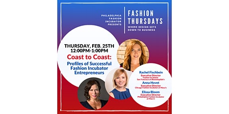 Fashion Thursdays with Incubator Entrepreneurs tickets