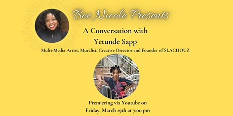 Bee Nicole Presents A Conversation with Yetunde Sapp tickets
