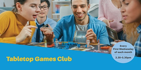 Tabletop Game Club tickets