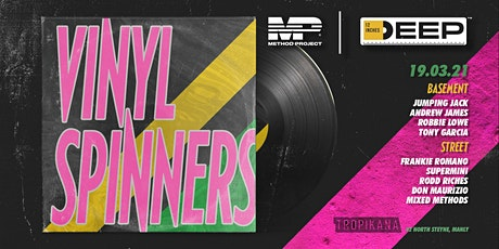 Method Project & 12 Inches Deep Present - VINYL SPINNERS @Tropikana tickets