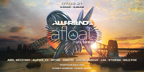 Allfriends Afloat - Mardi Sunrise Boat Party tickets