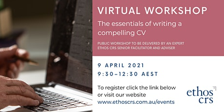 The essentials of writing a successful CV – April tickets