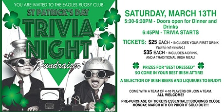 ST PATRICKS DAY TRIVIA NIGHT tickets