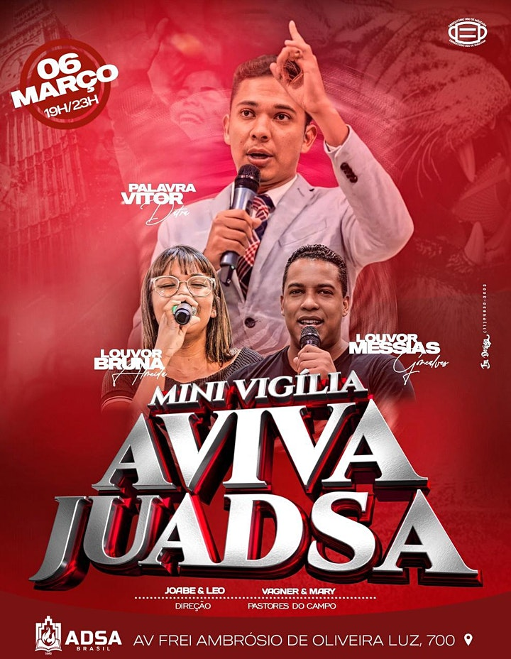 Imagem do evento Mini Vigilia Aviva Juadsa