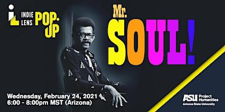 Film Discussion: Mr. SOUL! entradas