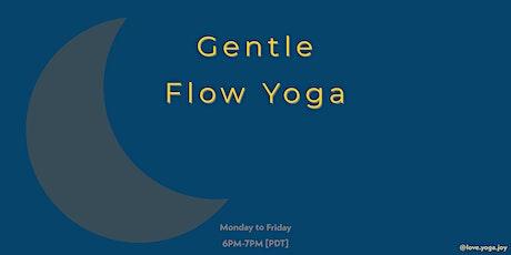 Gentle Flow Yoga Online tickets