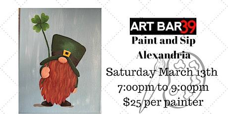 Gnome Me Some Luck| ART BAR 39 | Public Event |Alexandria tickets