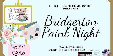 Bridgerton Inspired Paint Night tickets